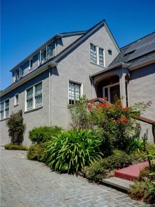 Grey Stucco Home Repaint